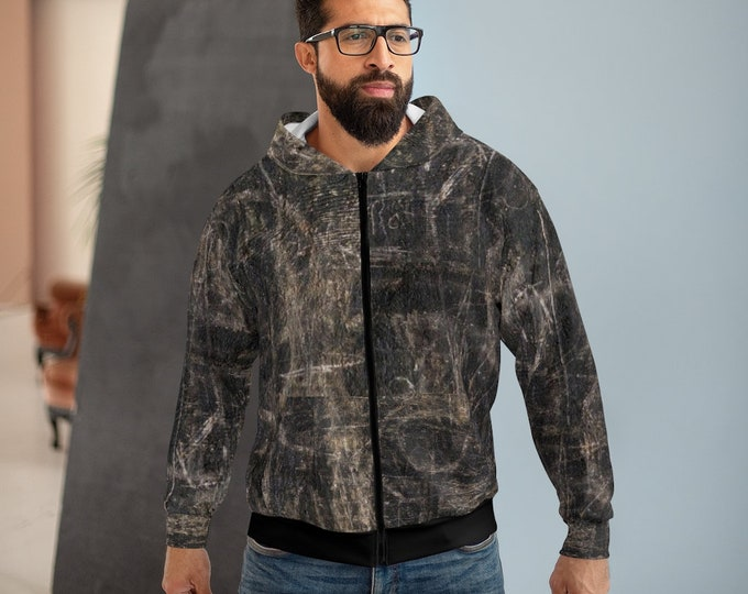 Post-apocalyptic style hoodie