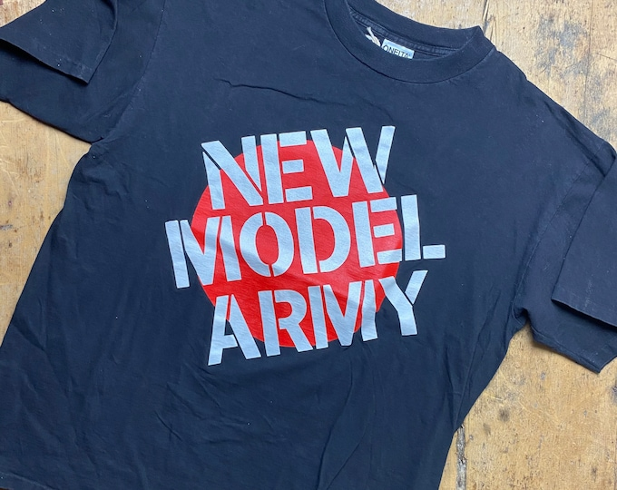 New Model Army tour shirt