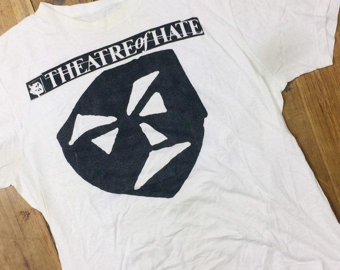 Theatre Of Hate Vintage Shirt. Size medium