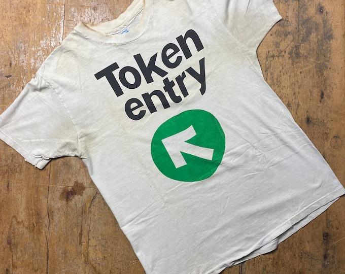 Token Entry New York hardcore shirt.