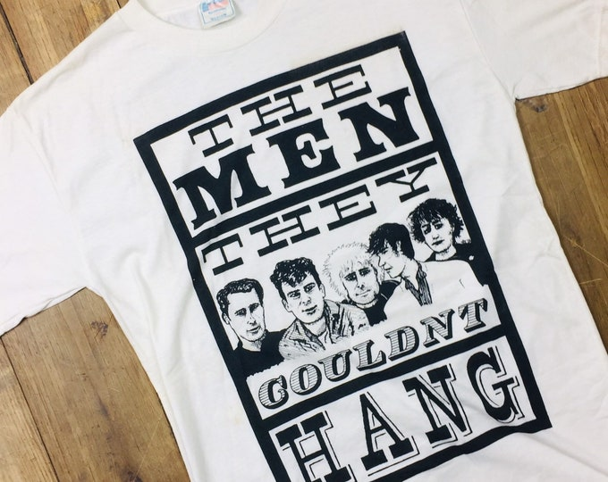 The Men They Couldn't Hang vintage shirt. 80's  medium