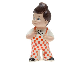Vintage Big Boy 1970's Money Bank Figurine Doll