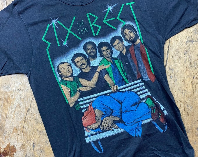 Genesis vintage  Six Best Tour tee shirt made in USA.