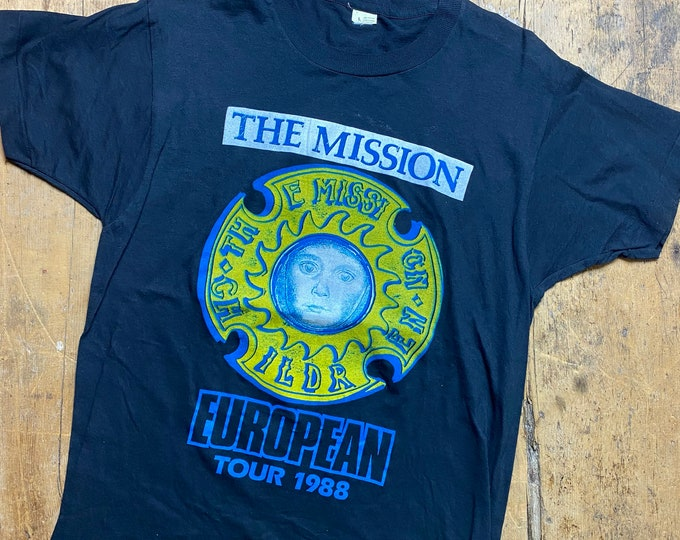 The Mission UK 1990's tour shirt