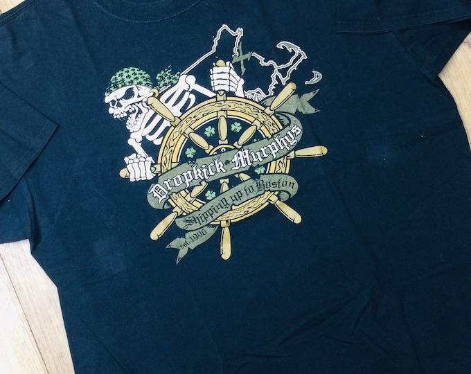 Vintage Dropkick Murphys punk shirt XL. Shipping up to Boston