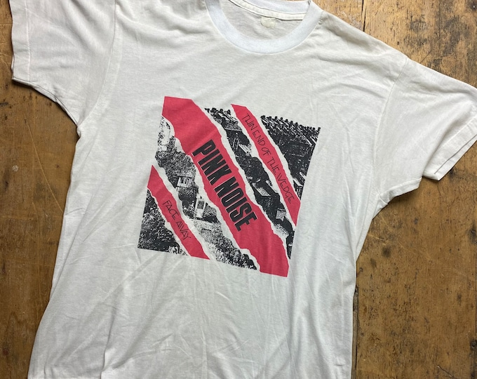 Rare Post punk Pink Noise shirt.