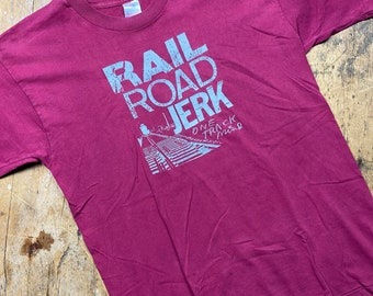 Railroad Jerk vintage 90's New York band shirt