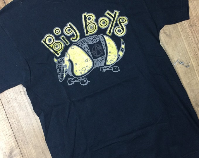 Austin Texas punk shirt Big Boys size Medium. Later print. 90's