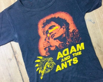 Adam and The Ants vintage English made 1970's shirt