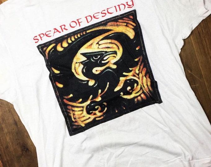 Spear of Destiny vintage tour shirt.