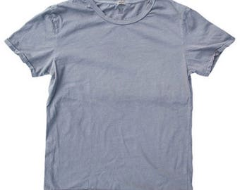 QMC Roughed Up Tee - 100% Cotton Jersey T-Shirt Vintage Silver Grey