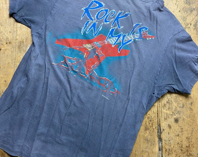 Vintage Sammy Hagar shirt.  Beefy tee Hanes Tour shirt concert shirt
