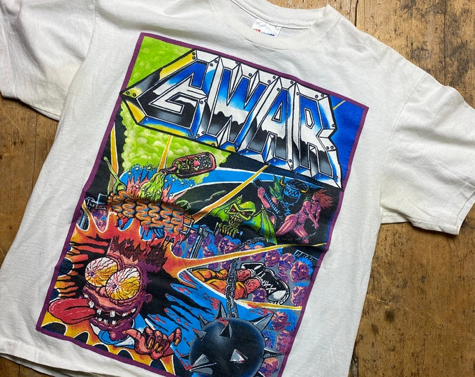 Gwar vintage tour shirt made in USA rare