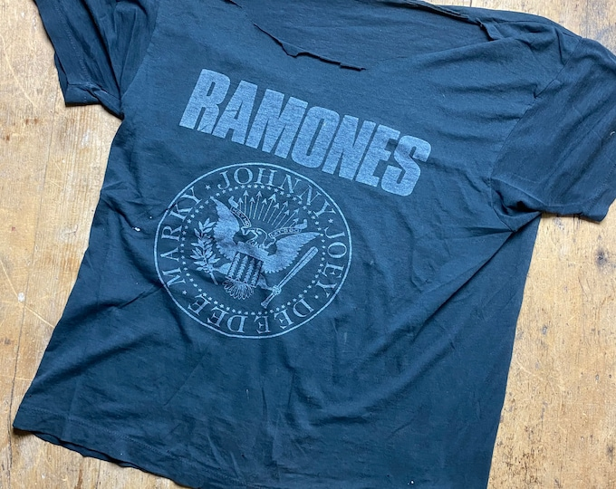 The Ramones new year 1989 Irving Plaza concert T.