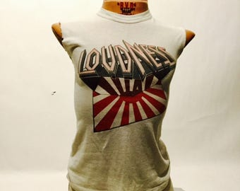 Vintage Loudness Lightning Strikes 1986 Tour Tee Shirt (os-ts-88)