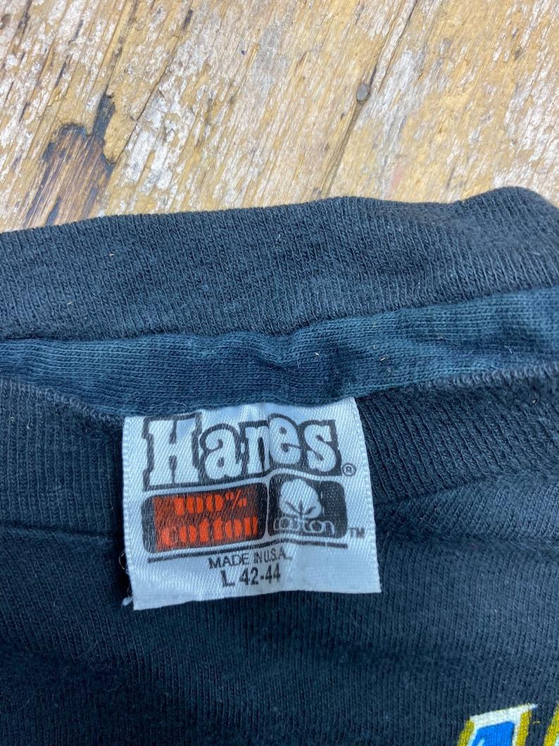 Vintage Triumph 1981 world tour tee shirt Hanes orange tag.