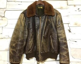 Vintage 40's Bomber Jacket