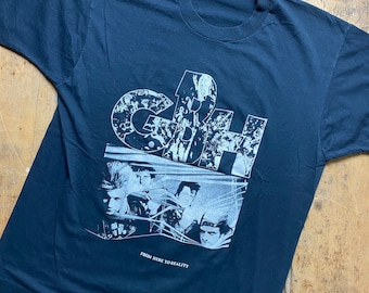 GBH vintage tour shirt. Screen stars paper tag.