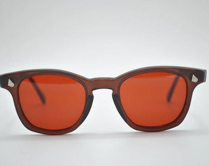 MAmerican Optical Brown frame and red lens