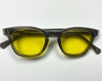 American Optical Custom sunglasses  Gray Frames and Yellow lens, American Made