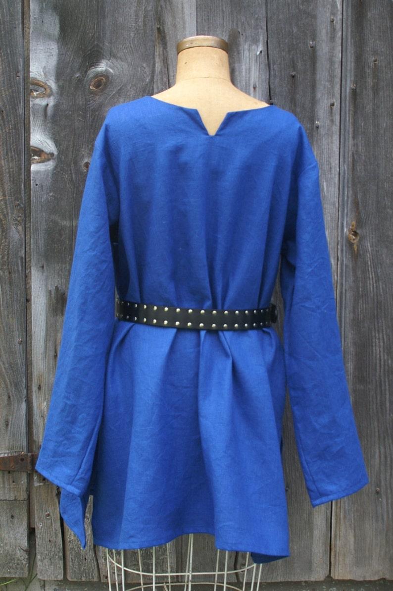 1ea470b67e7 Linen mens early viking celtic tunic shirt for sca larp