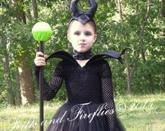 girls evil villain costume 4 piece set halloween cosplay costume gothic costume party dress festival costume evil costume sc 1 st etsy