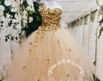 Peach Flower Girl DressFlower Girl DressBridesmaid DressProm DressSimple Wedding DressGirls DressesPrincess DressFormal DressWedding