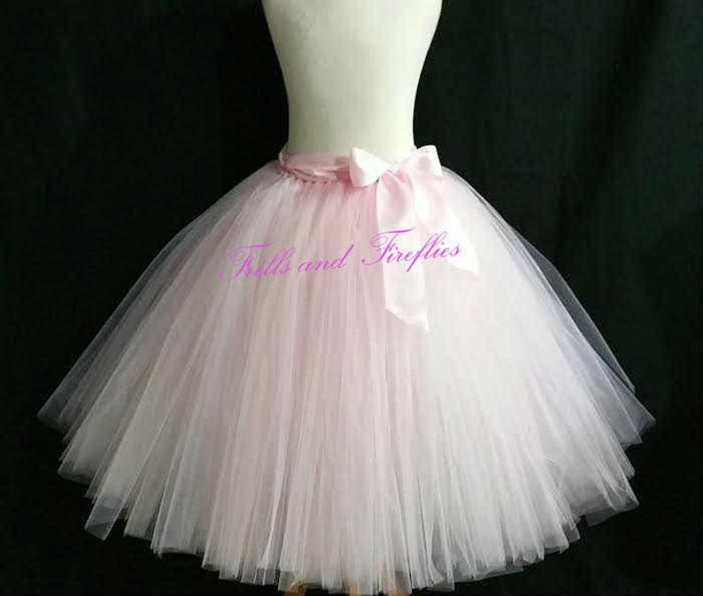 1592034fc Light Pink Tutu/Tulle Skirt/Costume/Festival | Etsy
