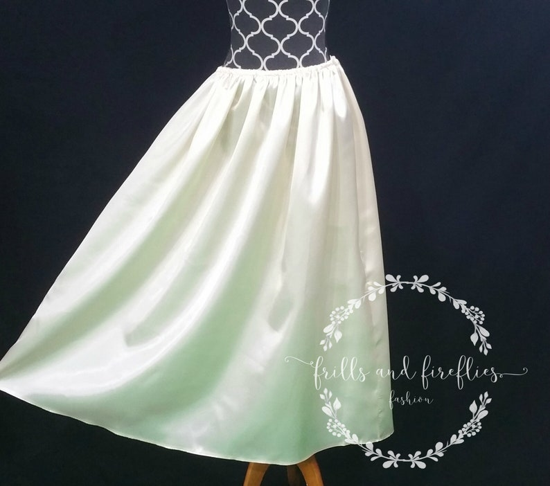Long Length Dress Half Slips/Several Styles/12 Different Color image 0