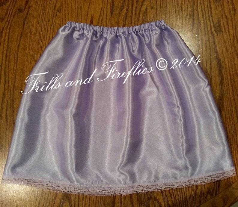 Flower Girl Dress Slip/Knee Length Dress Slips/Slip Skirt/Many image 0