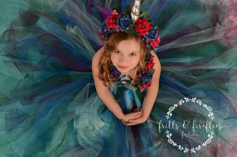1c83800ab Peacock Fairy Dress / Festival Clothing / Fairy / Princess | Etsy