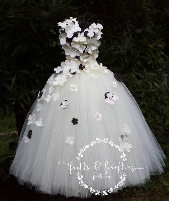 Ivory Or White Flower Girl Dress Flower Girl Dresses Etsy