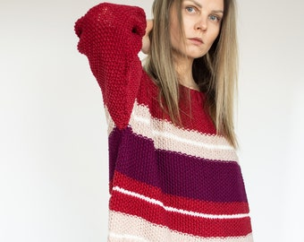 "Oversized ""Love"" Jumper"