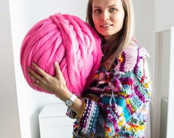 Zero Waste Merino Wool Jumper Sweater