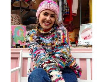 Zero Waste Merino Wool Jumper