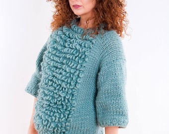 Chunky Knit Jumper Pullower