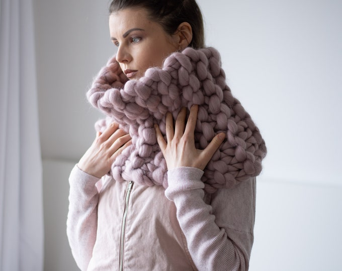 Oversized ONA Snood Shawl