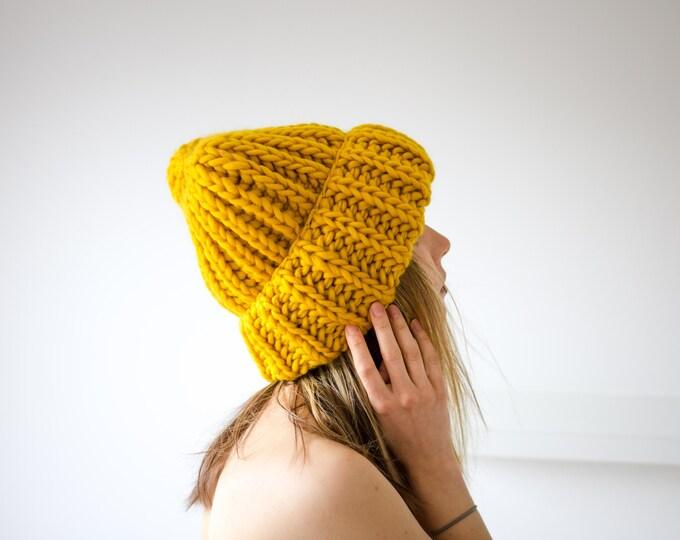 Slouchy Beanie Hat Oversized Unisex