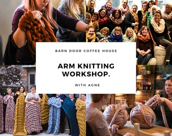 Arm Knitting Evening. Coleraine 27th Feb 2020