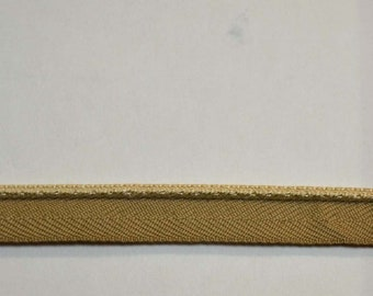 "1//4/"" BC10008 34 Butter Yellow Gold Lip Cord  Trim"