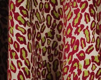 Wild Thing Raspberry Fabric