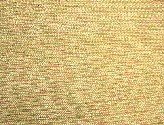 Green Pink Chenille Upholstery Fabric