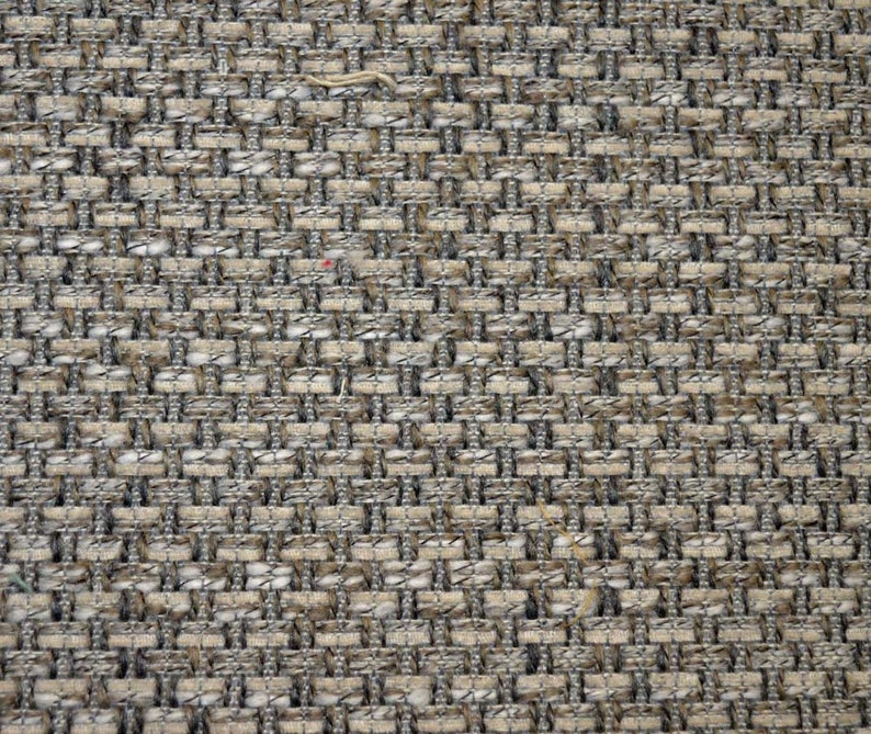 REMNANT Grey Textured Fabric 55 inches x 2 yards