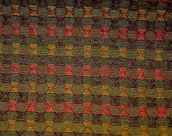REMNANT Geometric Upholstery Fabric 54 inches x 1.5 yards