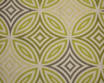 Circular Limeade Fabric