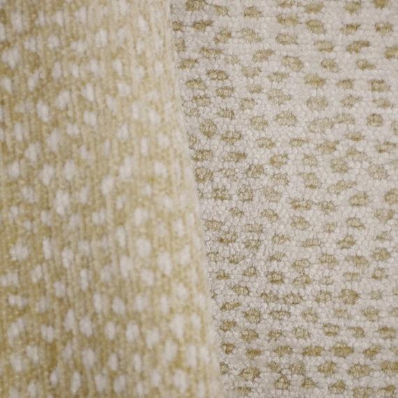 Siamese Nude Fawn Cheetah Reversible Chenille Fabric  1a3b6734a