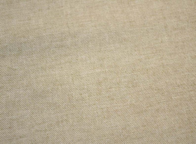 Cream Natural Linen Look Natural Linen Fabric
