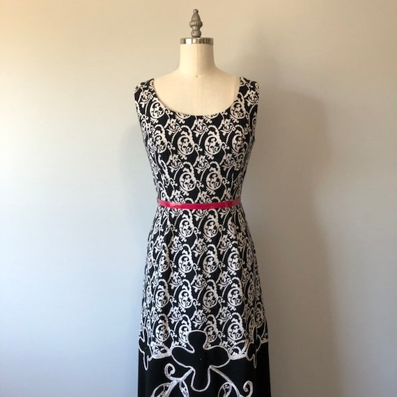 Rockabilly Vintage Dress/ Evening Gown / Beautifu… - image 1