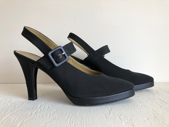 Gorgeous Yves Saint Laurent Shoes / Vintage Design