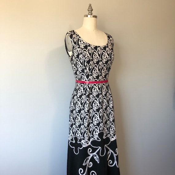 Rockabilly Vintage Dress/ Evening Gown / Beautifu… - image 7
